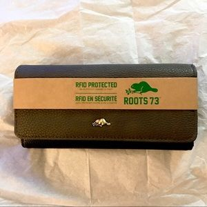 ROOT 73 RFID Protected Two Tone Wallet